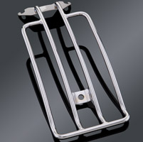 Chrome Luggage Rack for Solo Seat