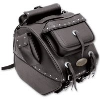 All American Rider Large Studded Trunk Bag with Exterior Pockets