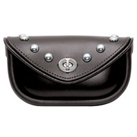The Leatherworks, Inc. Studded Windshield Bag