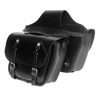 Leatherworks, Inc. Retro Saddlebags