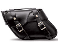 Leatherworks, Inc. Angle Split Lid Saddlebags