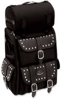 Saddlemen Chrome Studded Deluxe Sissy Bar S3500S Bag