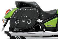 Saddlemen Desperado Throw-Over Saddlebag with Shock Cutaway