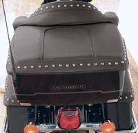 Mustang Chrome Studded King TourPak Lid Cover