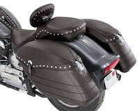 Mustang Studded Hard Saddlebags