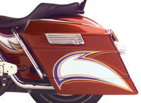 Arlen Ness Bagger Saddlebag Extensions