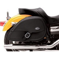 Saddlemen Drifter Rigid-Mount Teardrop Saddlebags for H-D Motorcycles