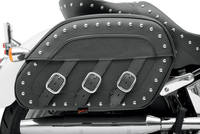 Saddlemen Desperado S4 Rigid-Mount Quick-Detach Slant Saddlebags for H-D Motorcyc