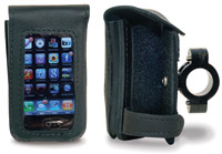 Leatherworks, Inc. iPhone Cell Phone Detachable Case for 1-1/4″ Handlebars