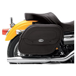 Saddlemen Cruis'n Saddlebags with Shock Cutaway