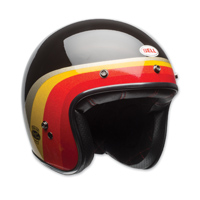 Bell Custom 500 LE Chemical Candy Black/Gold Open Face Helmet