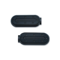 Kuryakyn Satin Black Heavy Industry Footpegs without Adapter