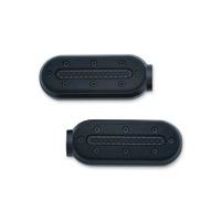 Kuryakyn Satin Black Heavy Industry Footpegs without Adapter