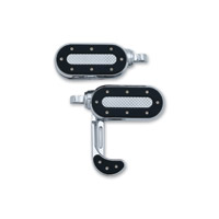Kuryakyn Heavy Industry Chrome Switchblade Footpegs