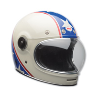 Bell LE Bullitt Chemical Candy Blue/White Full Face Helmet