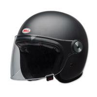 Bell LE Riot Matte Black Open Face Helmet