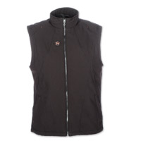 Mobile Warming Men's Dual Power Heated Black 12v Vest