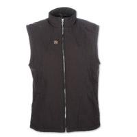 Mobile Warming Men's Dual Power Heated Black 12v Vest