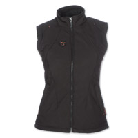 Mobile Warming Women's Dual Power Heated Black 12v Vest