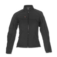 Mobile Warming Women's Dual Power Heated Black 12v Jacket