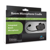 Cardo Boom Microphone Cradle for PackTalk and SmartPack Systems