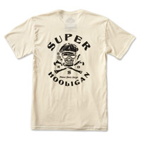 Roland Sands Design Men's Super Hooligan Vintage White T-Shirt