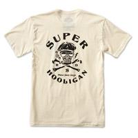 Roland Sands Design Men's Super Hooligan Vintage White T-Shirt