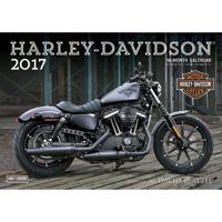 Motorbooks International 2017 Harley-Davison Wall Calendar