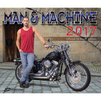 2017 Man & Machine 16 Month Calendar
