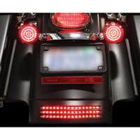 Custom Dynamics LED Dual Intensity Red Tri-Bar Fender Tip Light