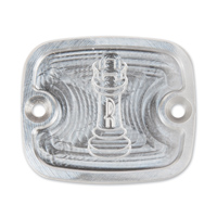 Rooke Raw Front Master Cylinder Cover