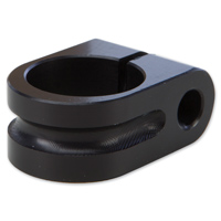 Rooke Black Milled Mirror Mount