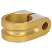 Rooke Gold Milled Mirror Mount