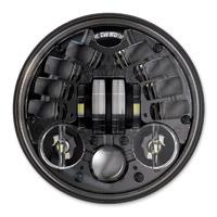 J.W. Speaker 5-3/4″ LED Black Adaptive Headlight
