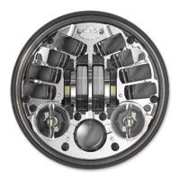 J.W. Speaker 5-3/4″ LED Chrome Adaptive Headlight