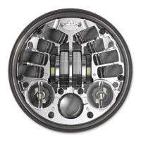 J.W. Speaker 5-3/4″ LED Chrome Adaptive Headlight