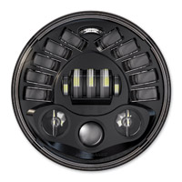 J.W. Speaker 7″ LED Black Adaptive Headlight