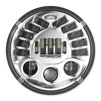 J.W. Speaker 7″ LED Chrome Adaptive Headlight
