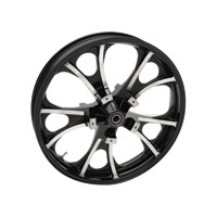 Coastal Moto                    Largo Cast Black Contrast Cut 21x3.5″ Front Wheel ABS