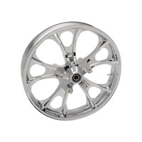 Coastal Moto Largo Cast Chrome 21x3.5″ Front Wheel Non-ABS