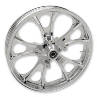 Coastal Moto Largo Cast Chrome 21x3.5″ Front Wheel ABS