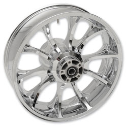 Coastal Moto Largo Cast Chrome 18x5.5″ Rear Wheel Non-ABS