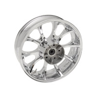 Coastal Moto Largo Cast Chrome 18x5.5″ Rear Wheel ABS