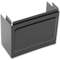 Drag Specialties Black Battery Cover