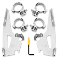 Memphis Shades Fats/Slim Polished Trigger Locking Mount Kit