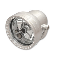 Ken′s Factory 4-1/2″ Neo-Fusion Polished with Polished Ring Headlight