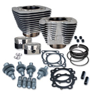 S&S Cycle 1200cc Silver 12.5 Hooligan Kit