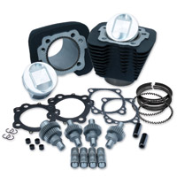 S&S Cycle 1250cc Wrinkle Black Hooligan Kit