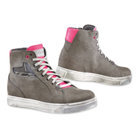 TCX Women's Street Ace Lady Air Cold Gray/Fucsia Shoes