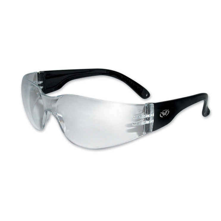Global Vision Eyewear Rider Sunglasses with Clear Lens